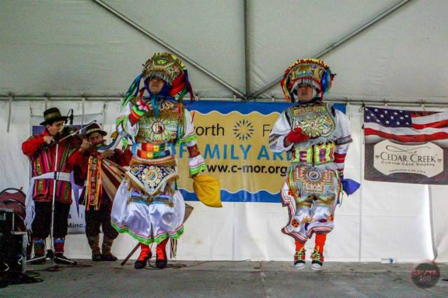 JAMinc RFF tent Vietnamese dancers