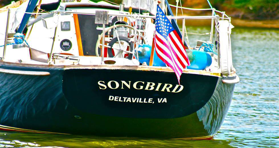 Boat called Songbird